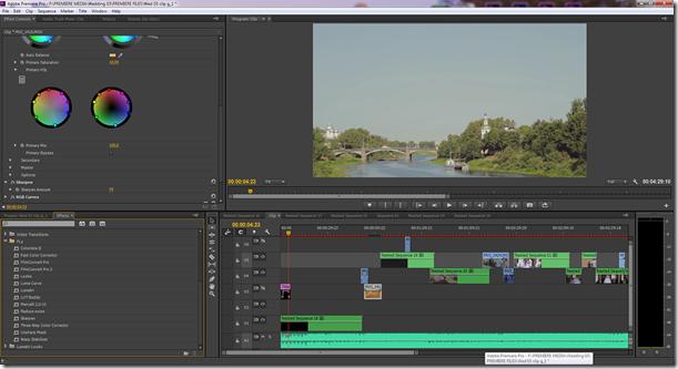 Профессиональные программы для видеомонтажа. Premiere pro