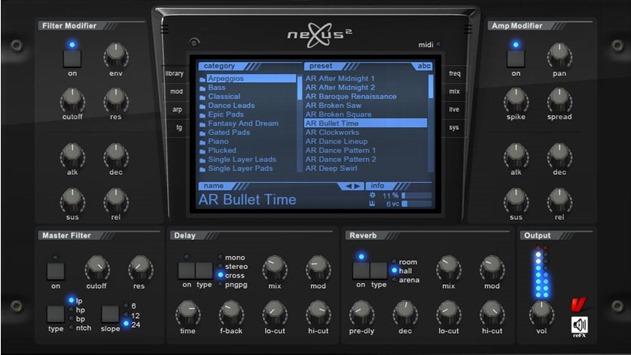 NEXUS 2. Лучшие VSTi инструменты.