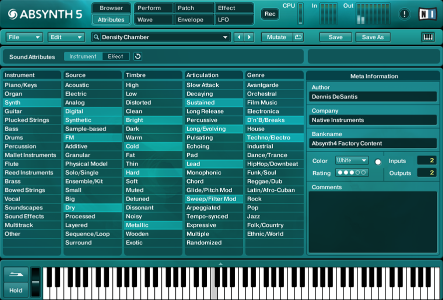 Komplete : Synths : Absynth 5 | Products - Native Instruments
