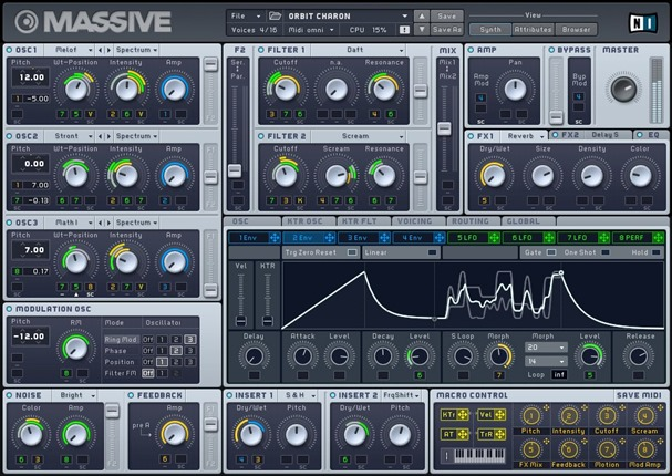 Massive. Лучшие VSTi инструменты.