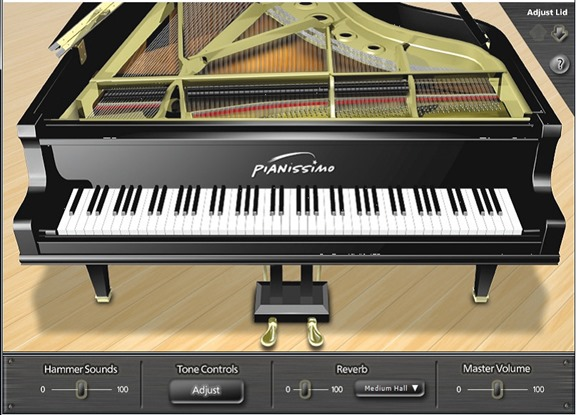 Acoustica Pianissimo. Лучшие VSTi инструменты.