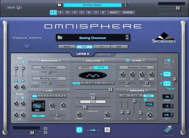 Omnisphere. Лучшие VSTi инструменты.