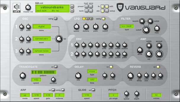 reFX VANGUARD. Лучшие VSTi инструменты.