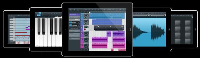 Приложения для создания музыки. Cubasis