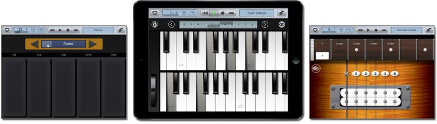 Приложения для создания музыки Looptical