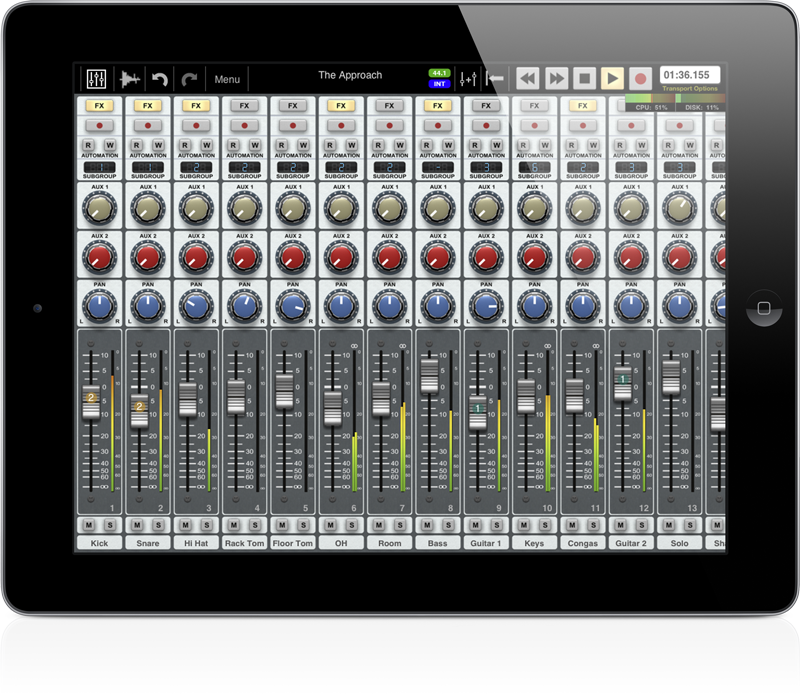 Приложения для создания музыки. Auria