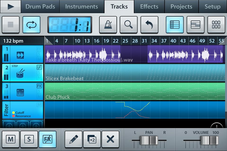 Приложения для создания музыки. FL Studio mobile