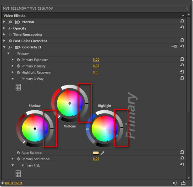 Исправление баланса белого на видео в Adobe Premiere.