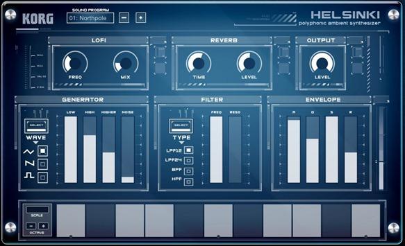 Новое приложение для создания музыки на iPad - Korg Gadget. Helsinki