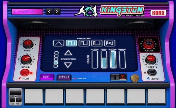 Новое приложение для создания музыки на iPad - Korg Gadget. Kingston