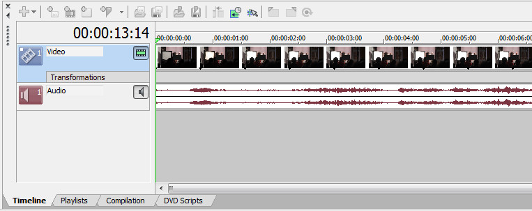 Sony DVD Architect Pro Изменение фона