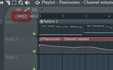 FL Studio Step Editing
