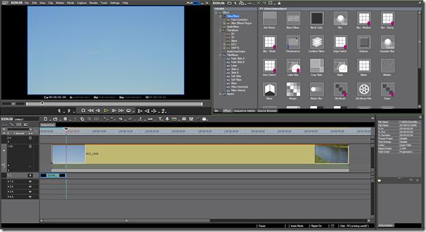 Профессиональные программы для видеомонтажа. Edius