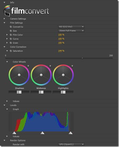 Лучшие плагины для Adobe Premiere Pro. FilmConvert 2