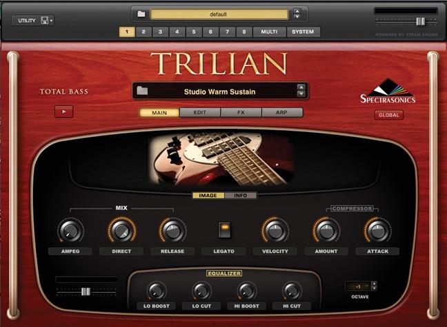 Trilian. Лучшие VSTi инструменты.