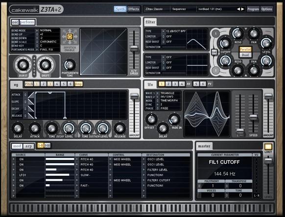 Z3TA+ 2. Лучшие VSTi инструменты.