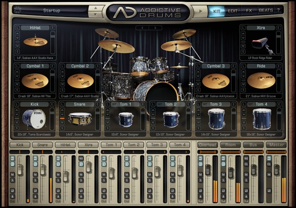 XLN Audio Addictive Drums. Лучшие VSTi инструменты.
