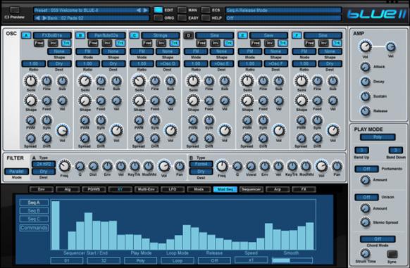 Rob Papen BLUE II. Лучшие VSTi инструменты.