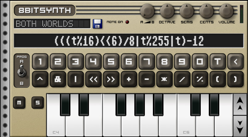 Приложения для создания музыки. Caustic 8BitSynth