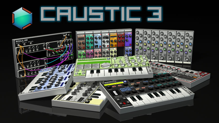 Приложения для создания музыки. Caustic