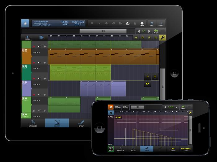 Приложения для создания музыки. BeatMaker 2