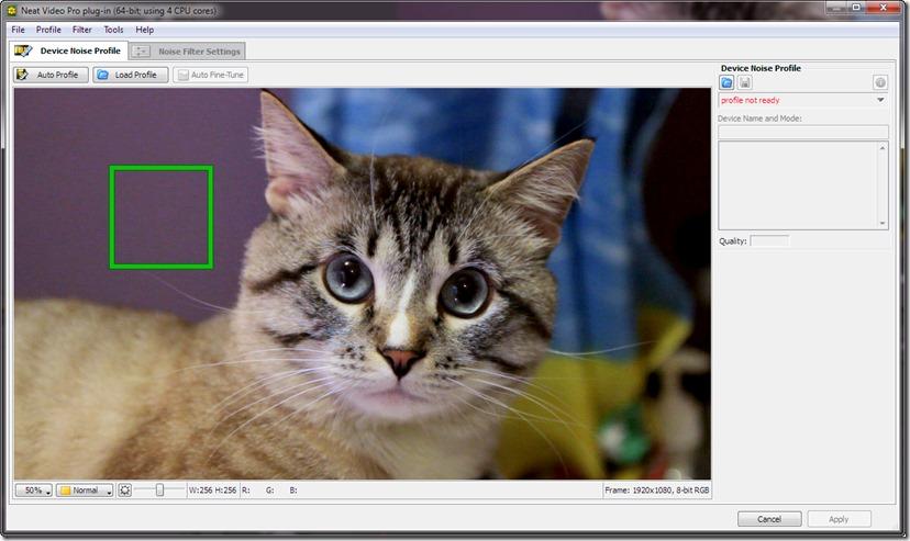 Удаление шума с видео при помощи плагина Neat Video.