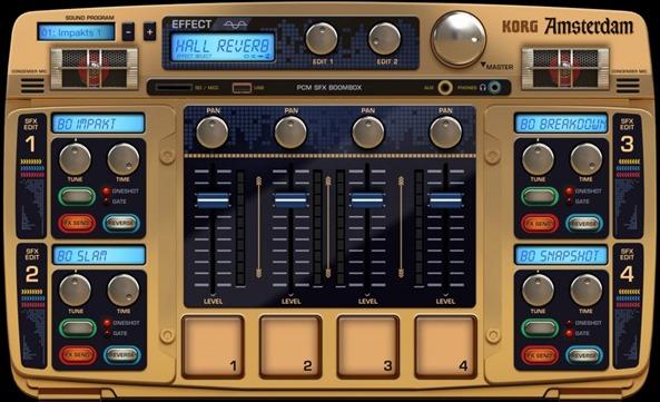 Новое приложение для создания музыки на iPad - Korg Gadget. Amsterdam