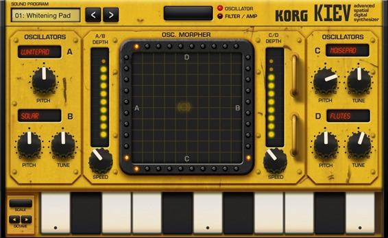 Новое приложение для создания музыки на iPad - Korg Gadget. Kiev
