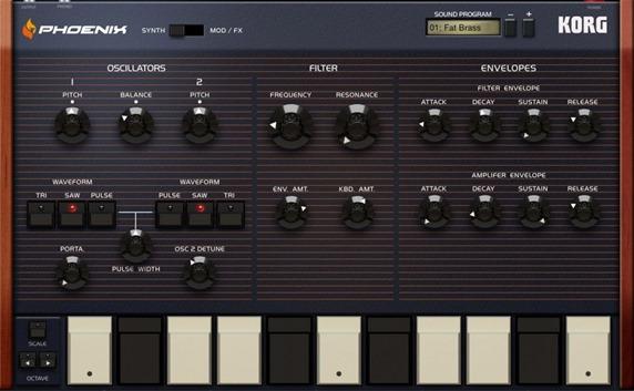 Новое приложение для создания музыки на iPad - Korg Gadget. Phoenix