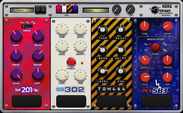 Новое приложение для создания музыки на iPad - Korg Gadget. Tokyo