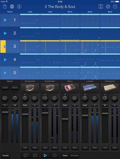 Новое приложение для создания музыки на iPad - Korg Gadget.