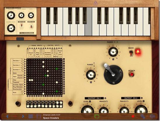 Музыкальные инструменты для iPad Часть 1 iVCS3