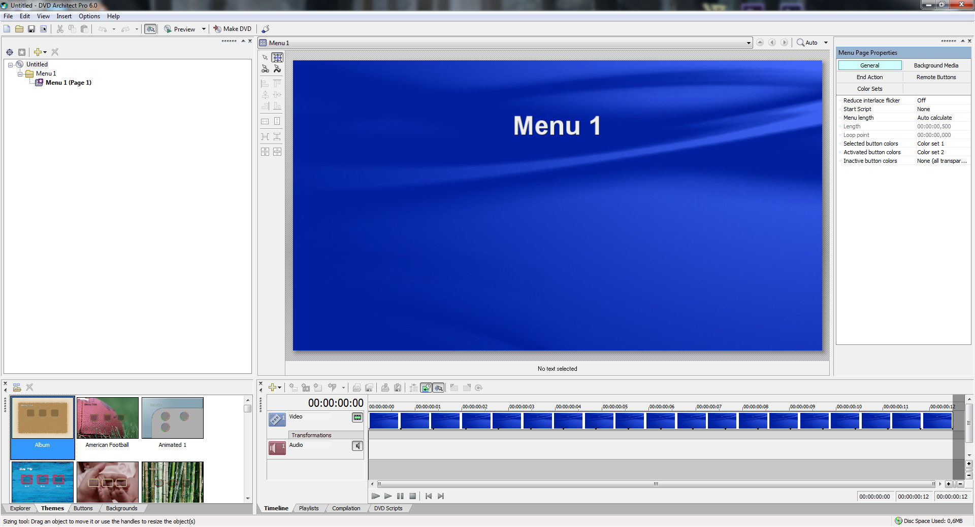 Sony DVD Architect Pro