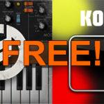 Забираем бесплатно KORG iKaossilator и Minimoog Model D для iOS