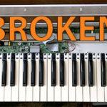Что делать если не работают несколько клавиш на midi клавиатуре